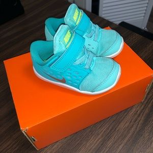 Turquoise teal sneakers